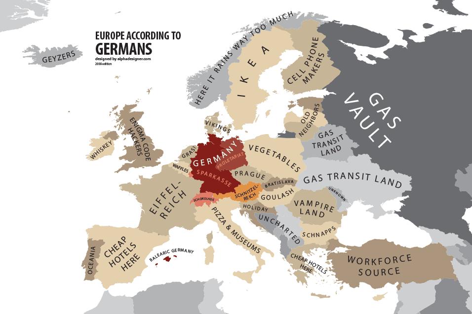 Europa según Alemania