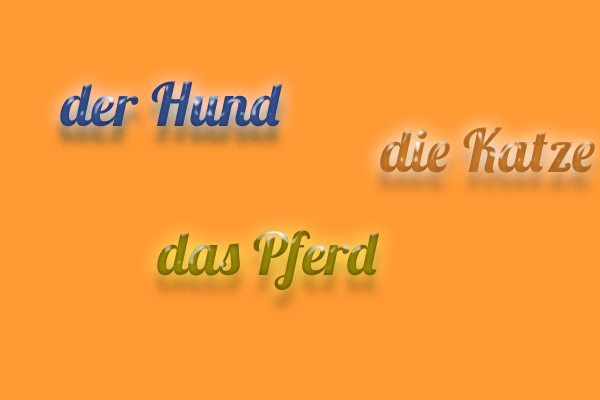 El Artículo Y El Género De Los Nombres En Alemán El Alemanista
