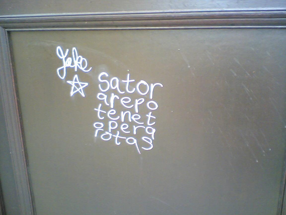Latín, el lenguaje de los graffiteros del futuro...