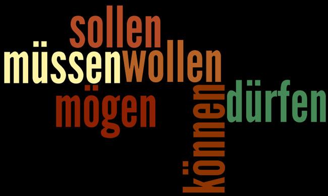 verbos modales alemán