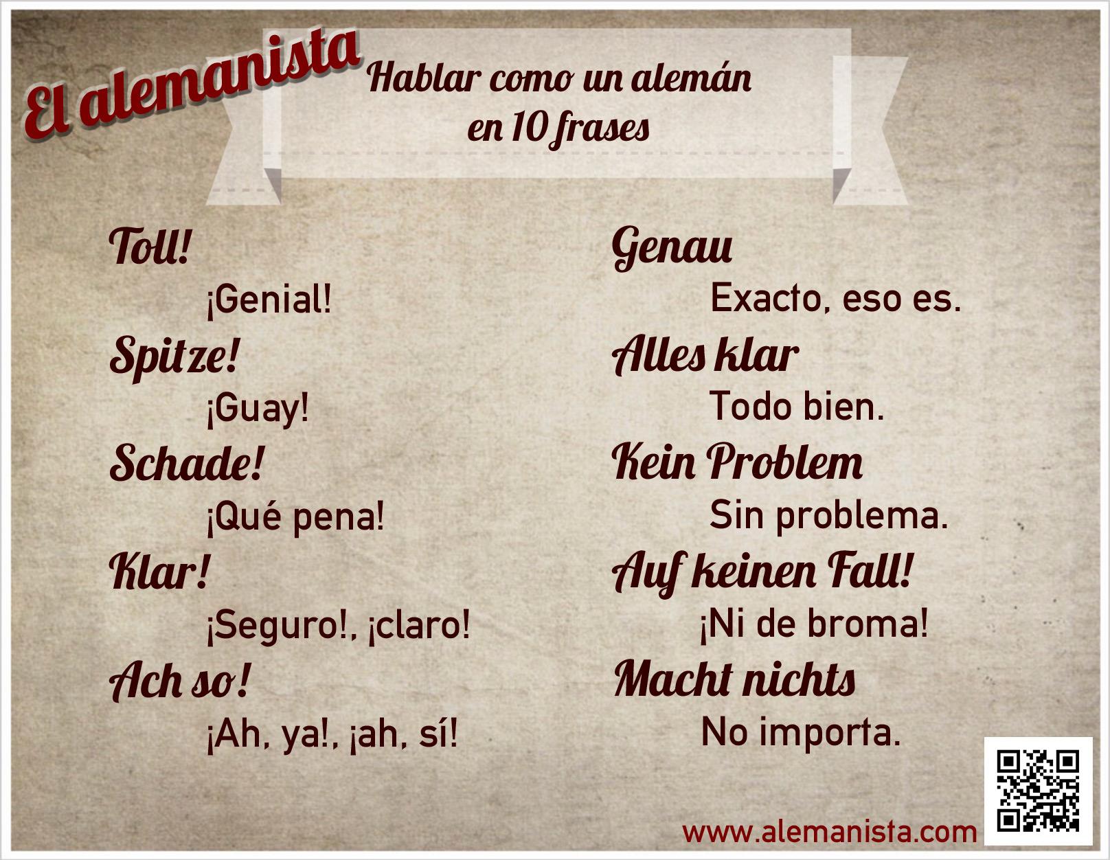 Hablar como un alem n en 10 frases el alemanista for Expresiones cortas