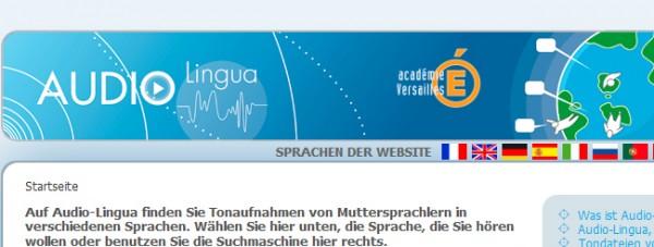 Audio-Lingua cabecera