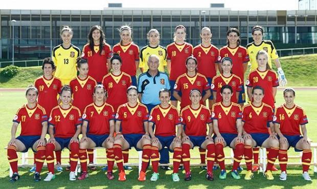 Selección Femenina de Fútbol 2013