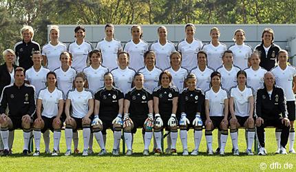 Selección alemana de fútbol femenino